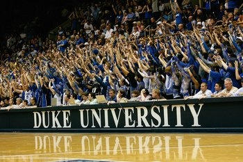 Cameron Crazies - love me some Duke basketball