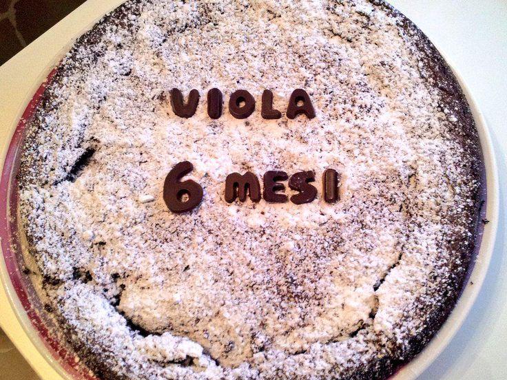 La #torta per i sei mesi del mio #amore! - A #cake for my #love's six months! #complimese #monthiversary