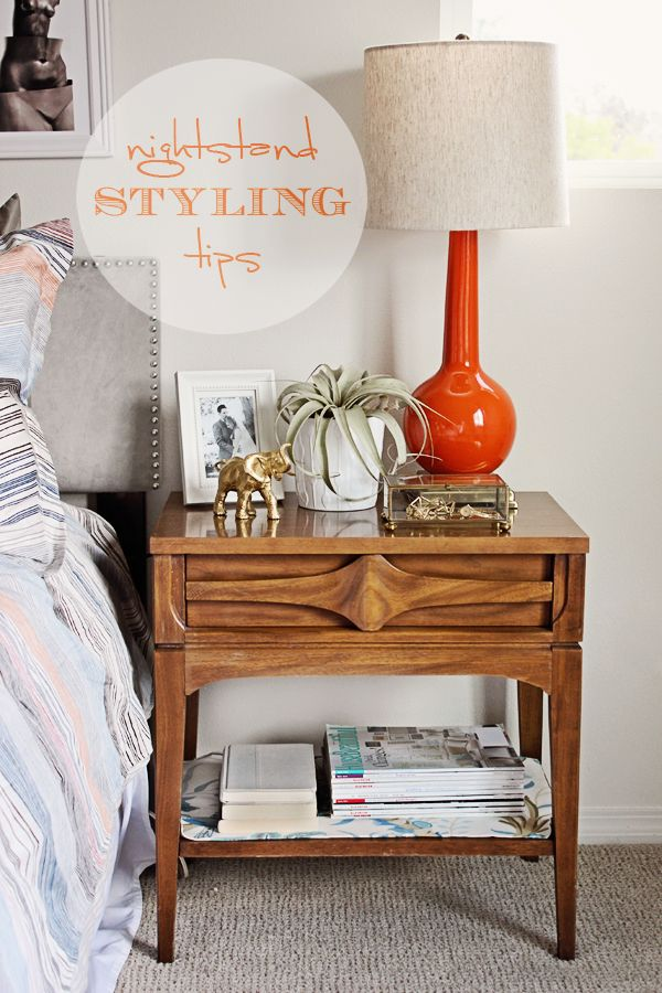 How to Style Your Nightstand | Via @Sarah Chintomby Caron {Lacquer and Linen}