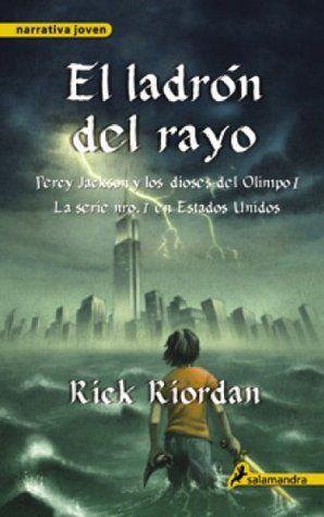 El Ladron del Rayo-Rick Riordan (Percy Jackson #1)