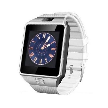 DZ09 Smart Phone Watch  Smart Phone Watch, DZ09 smart watch, handsfree bellen, interne Sim kaart, compatible met iphone en android, berichten lezen en verzenden, fm radio, wekker, agenda, interne camera 0.8 mp, mediaspeler, sd opslag, siliconen band