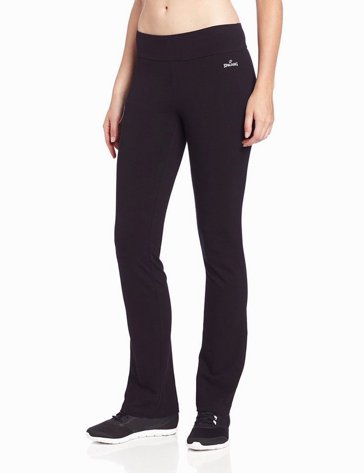 159aad375aa69 Spalding Women s Slim-Fit Yoga Pant at Amazon Women s Clothing store   Athletic Sweatpants