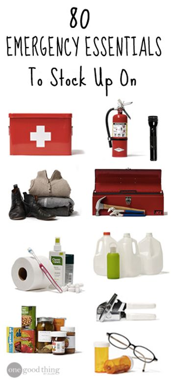 You don't need to be a prepper to prepare! Keeping some emergency essentials close to hand in order to protect you and your family is something that will be appreciated if anything unforeseen happens.  Here is MY list of things to stock up on in case of an emergency. Hopefully it will inspire you to start yours!
