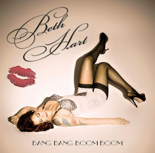 Beth Hart - Bang Bang Boom Boom  Raw, Bluesy, the good side of trashy and she really is a rock n roll bikerchick