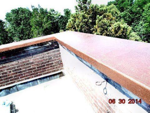 Fiberglass Parapet Wall Roof Cap Waterproofing Bob Wewer