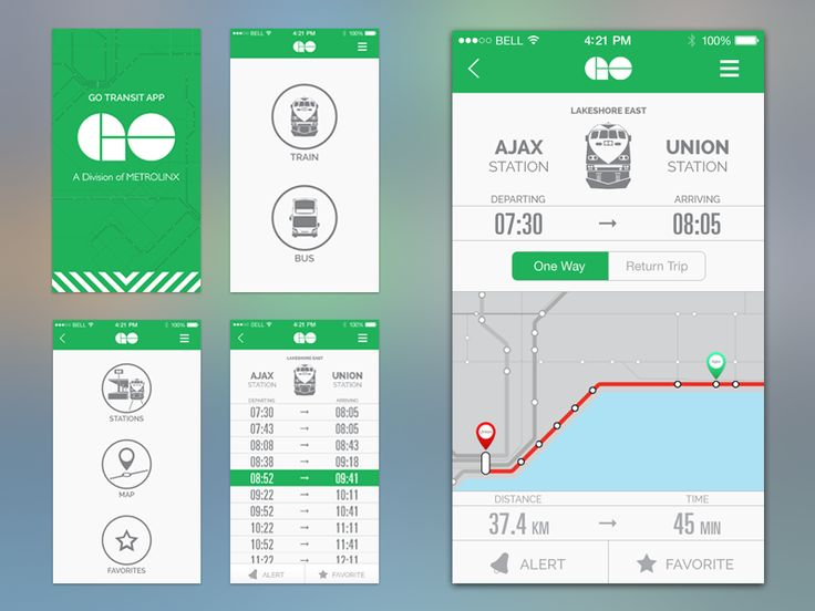 I got tired of using the clunky robotic looking Go Transit app and decided to…