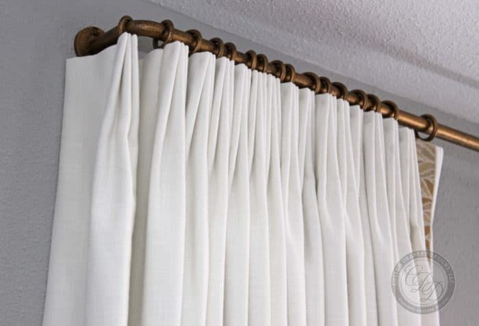 Curtain Rods Hardware In 2020 Custom Drapery Designs Drapery