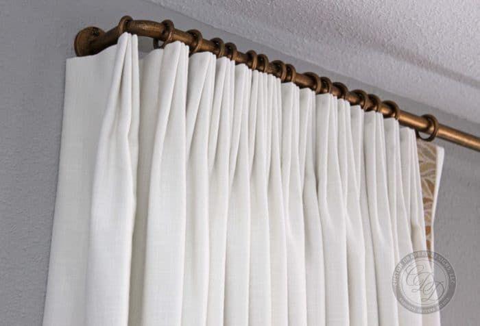 Curtain Rods Hardware In 2020 Custom Drapery Designs Drapery