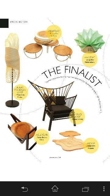 Bravacasa Design Challenge 2013 - Teak MOLO Plate