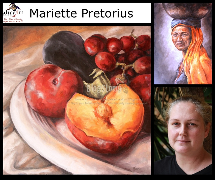 Mariette Pretorius: Sterk kwashale Interessante figure!