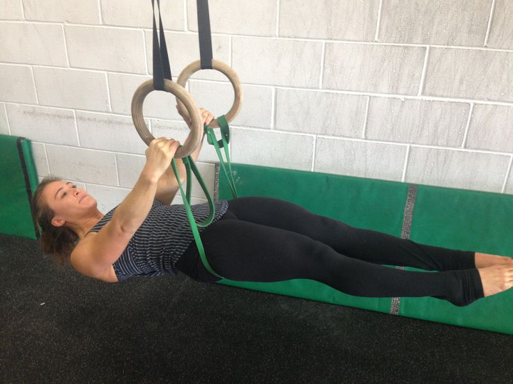 Steps to a Muscle-Up - Step #2: Hips to Ring