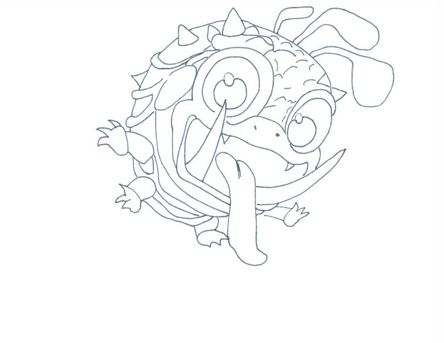 Skylander Wrecking Ball - Free Colouring Pages