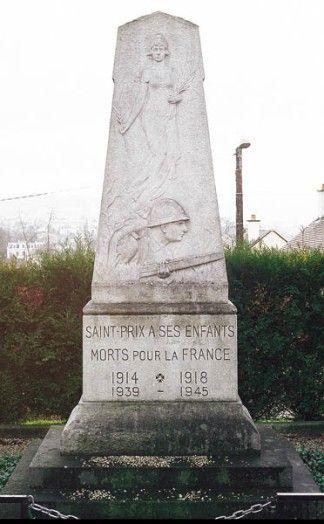 Monument aux morts, Saint-Prix,  Val d'Oise