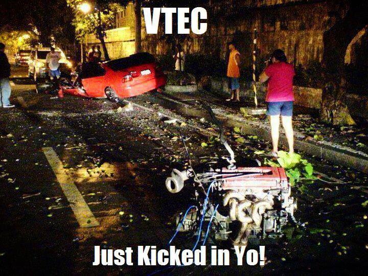 Honda meme Car meme  Vtec funny