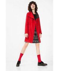 Desigual červený kabát Natalia