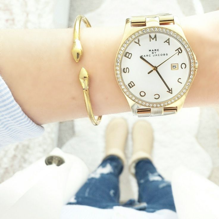 White & Gold by A N N A ♡, get the look here: http://stylad.me/24lgdr
