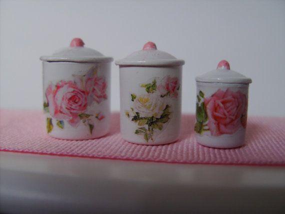 Dollhouse Miniature Shabby Chic Rose Garden by miniaturerosegarden, $19.00: Shabby Chic, Chic Rose, Chic Miniatures, Rose Garden, Miniaturerosegarden Etsy Com, Roses Garden, Dollhouses, Dollhouse Miniatures