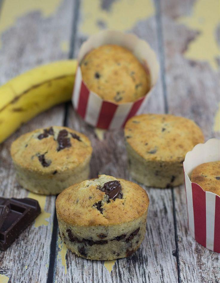 Bananmuffins med chokoladestykker (15)