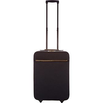 Black Chain Trolley Suitcase ...joke at 999.!