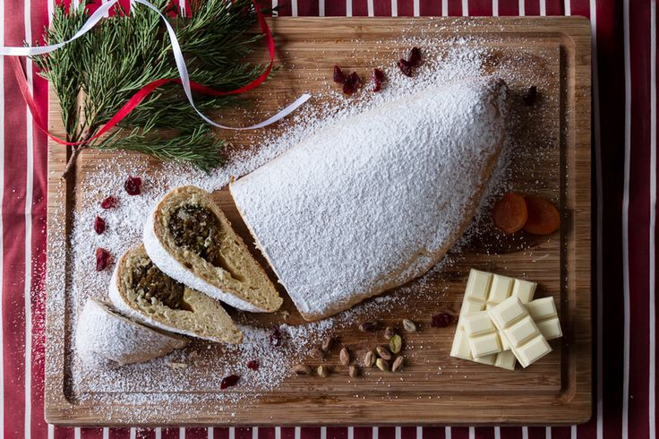 Stollen is a traditional German cake, usually eaten during the Christmas season, when it is called Weihnachtsstollen or Christstollen.