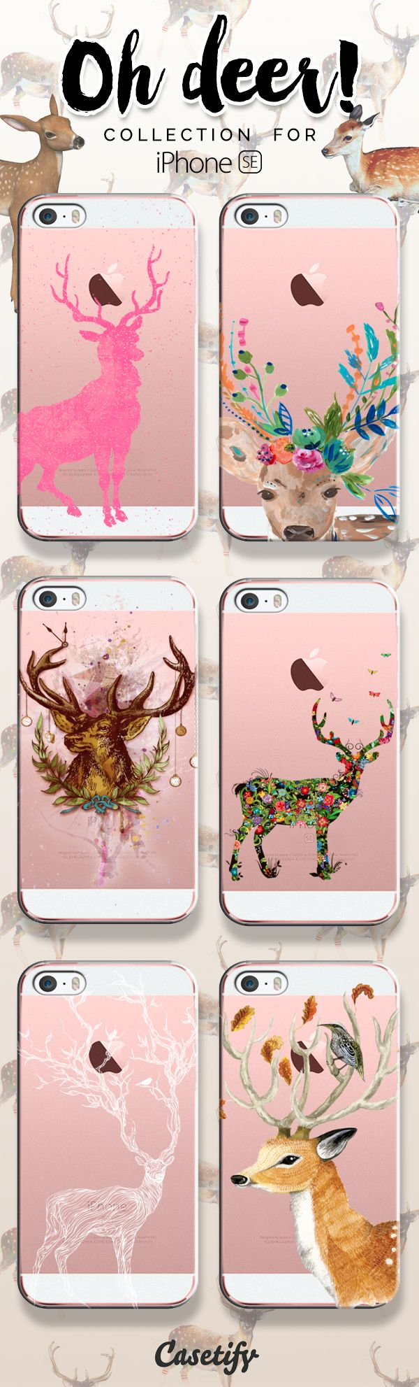 Oh deer! Take a look at these cases featuring deers on our site now!  https://www.casetify.com/artworks/VDKia1doTL   @casetify