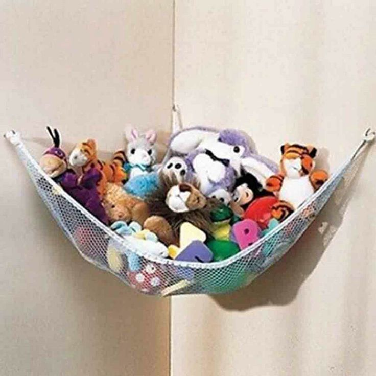 Hanging Toy Hammock Net Deluxe Pet Organize Corner Stuffed Animals Toys baby kids Toy Doll Animals Storage Hammock