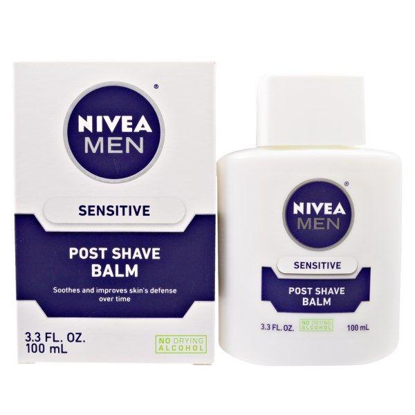 Nivea, 男性用アフターシェービングバーム・敏感肌用・100 ml
