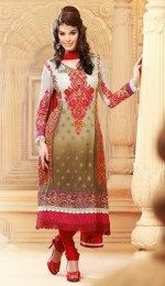Gorgeous Embroidered & Patch Work Salwar Suit To Look Defferent