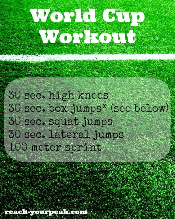 Soccer drill inspired workout #pinoftheday... 1