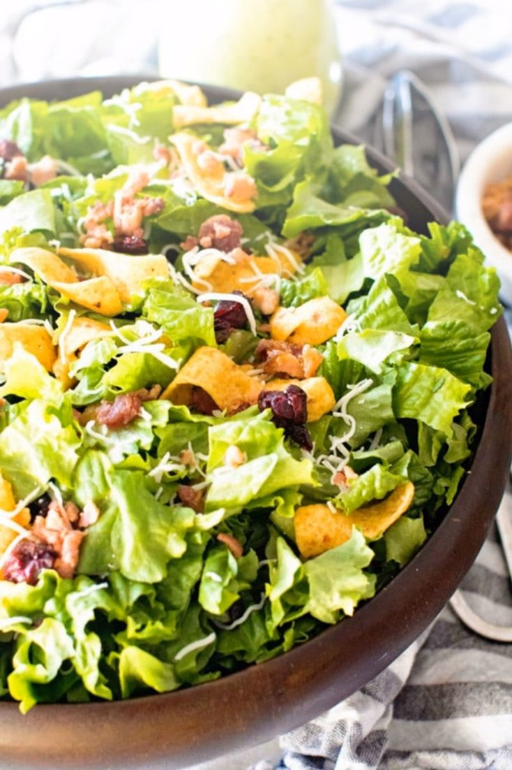 Lettuce Frito Salad is a delicious Corn Chip Salad Layered ...