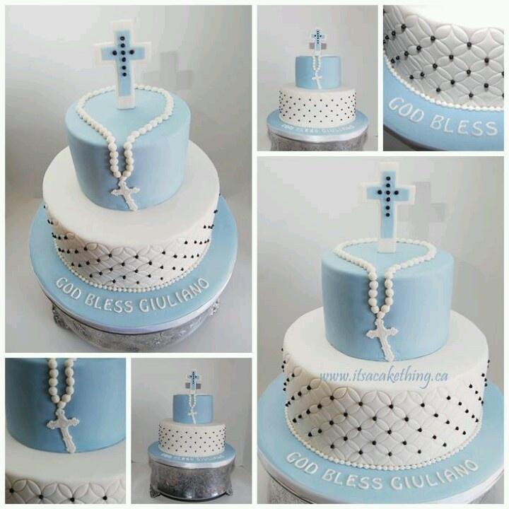 Confirmation cake c party ideas pinterest baptisms for 1st holy communion cake decoration ideas