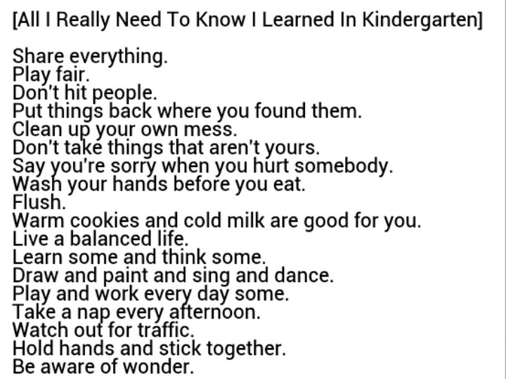 Poem Project- All I Really Need to Know I Learned ... - Prezi