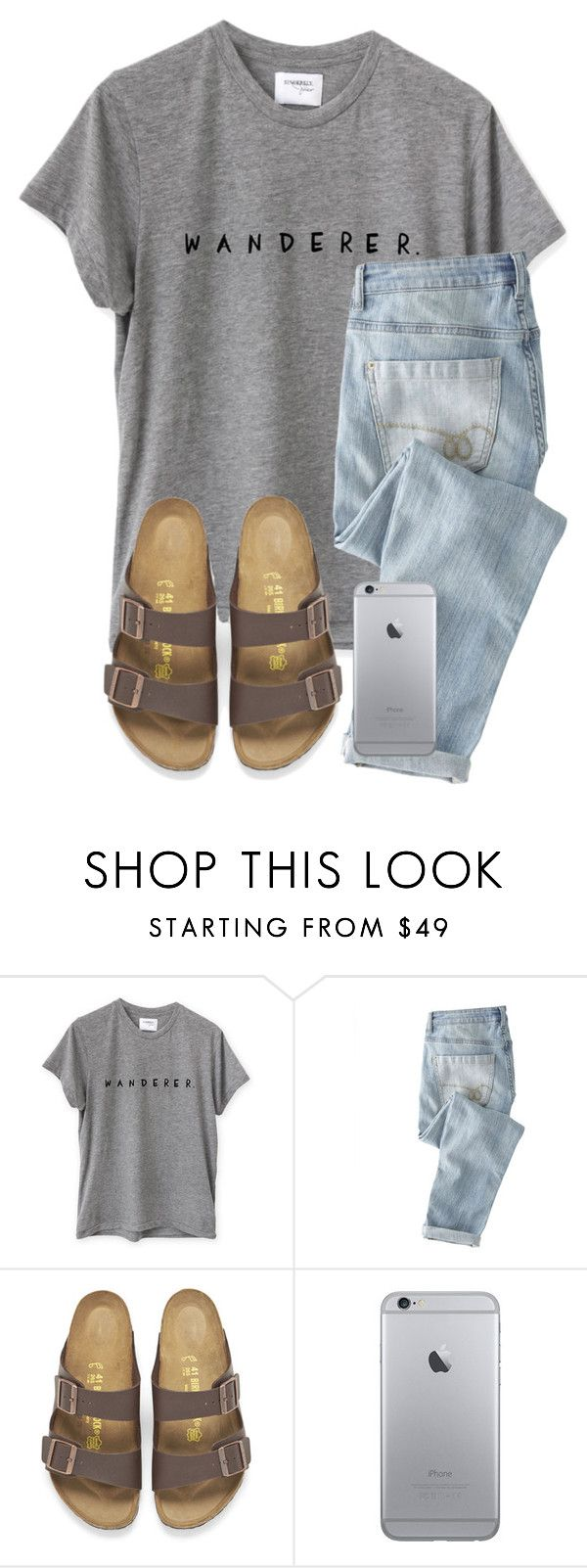 """""""Cracked My Phone Yesterday"""" by twaayy ❤ liked on Polyvore featuring Wrap and Birkenstock"""