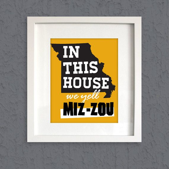 This great piece is a perfect gift for every Tiger fan!