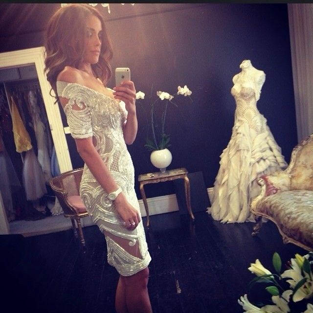 J'aton Couture - Bec Judd less than a month after giving birth!!!