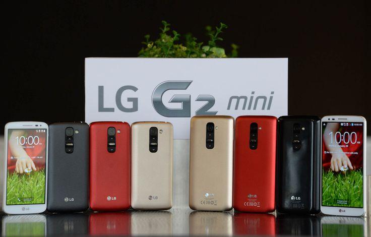 """Ecco G2 mini, il primo smartphone """"compatto"""" di LG."""