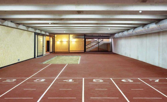 Sustainable Architecture Project for a Sports Facility