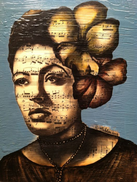 ☆ Billie Holiday :¦: Artist Rebecca Miller ☆