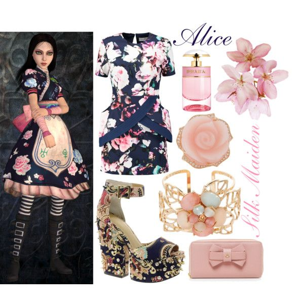 Alice (Silk Maiden outfit) ~ Alice: Madness Returns || by