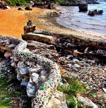 Sea Glass Beach:  Corner of Cochran and Malibar Road, Hamilton, Bermuda