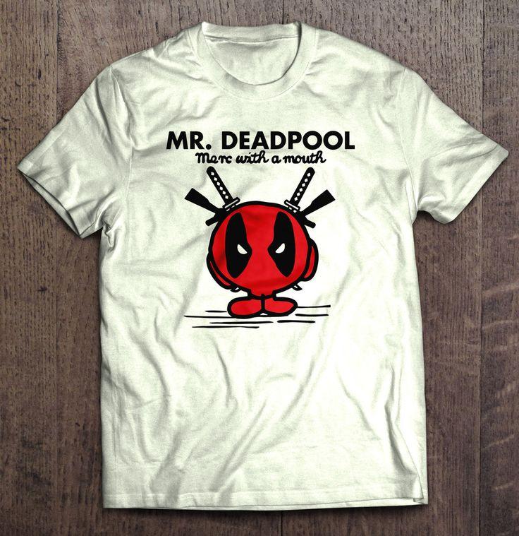 Mr Deadpool T-Shirt
