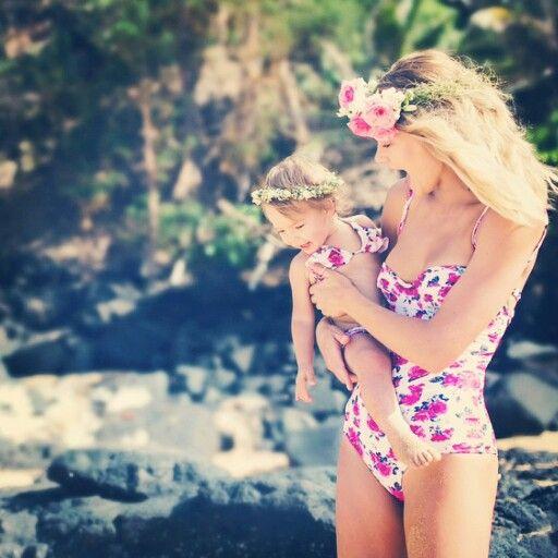 Two Cute Boutique | www.twocuteinc.com | Tori Praver Mommy and Me Bikini Swimwear
