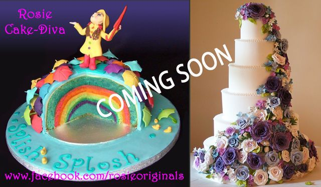 Rainbow cake - by RosieCakeDiva @ CakesDecor.com - cake decorating website