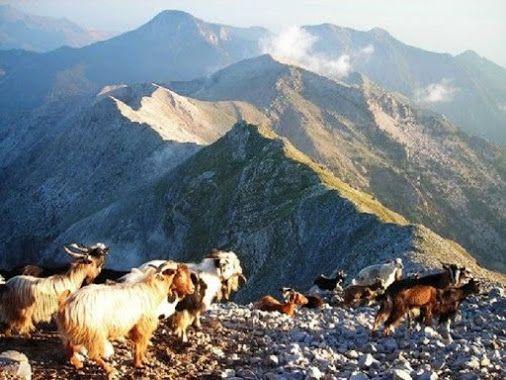 Taygetos peak, Peloponissos, Greece