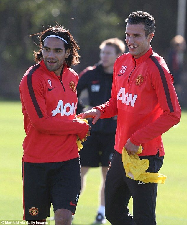 Radamel Falcao (left) and Robin van Persie (right) are just two of the abundance of attack...