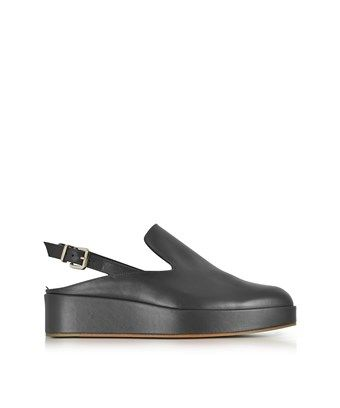 ROBERT CLERGERIE ROBERT CLERGERIE WOMEN S BLACK LEATHER WEDGES robertclergerie shoes