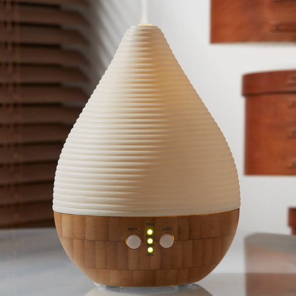 Aromatic Oil Diffusers ~ Made by zen amaya bamboo ceramic aroma diffuser with