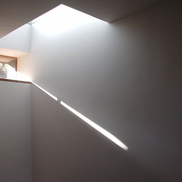 A roof light is placed in the north west of this plate such that the pace can achieve the benefits of moving light all day.