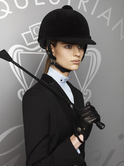 """""""Gucci Cruise 2013 Equestrian collection"""" This cracks me up...the """"CRUISE collection""""? I ride English and I've cruised before, but I'm not aware of a cruise line that offers equestrian activities ON BOARD? What a silly name."""