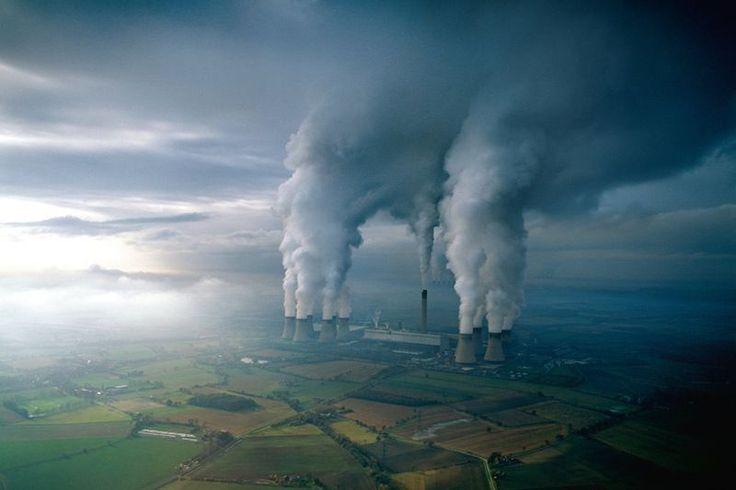 Zanieczyszczanie atmosfery przez elektrownie węglowe…